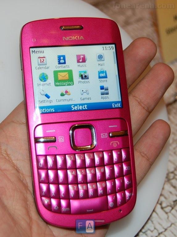 Nokia C3 Preview – Pics , Video And E72 Comparison
